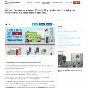 Vietnam Development Report 2014 - Skilling up Vietnam: Preparing the workforce for a modern market economy