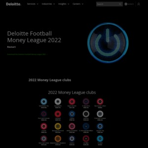 Deloitte Football Money League 2016