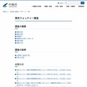 景気ウォッチャー調査(平成25年9月)