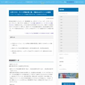 〔スマホ編〕全国大学サイト・ユーザビリティ調査 2016-2017
