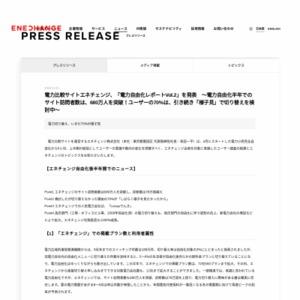 電力自由化レポートVol.2