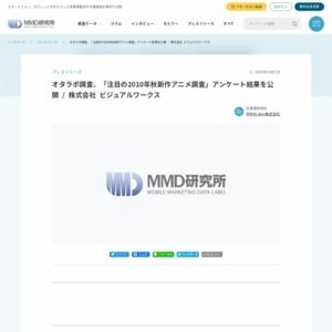 オタラボ調査、「注目の2010年秋新作アニメ調査」