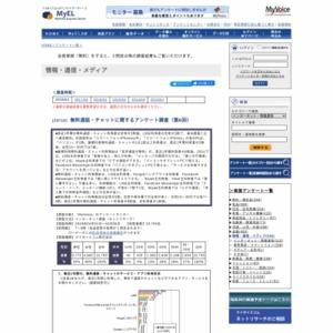 無料通話・チャットに関するアンケート調査(第6回)