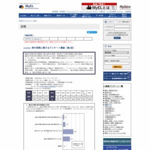旅行保険に関するアンケート調査(第2回)