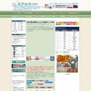 2017年第1回珍しい名字ランキングトップ30~名字由来net1月セレクト~