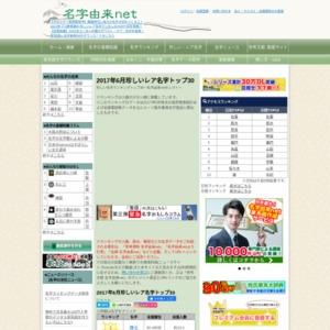 2017年6月珍しい名字ランキングトップ30~名字由来netセレクト~