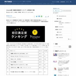映画初日満足度ランキング(3月第3週) つみき
