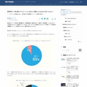 海外旅行の市場調査アンケート