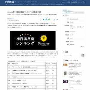 映画初日満足度ランキング(4月第3週)