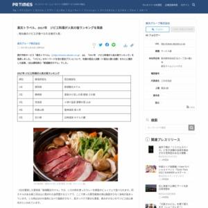 2017年 ジビエ料理が人気の宿ランキング