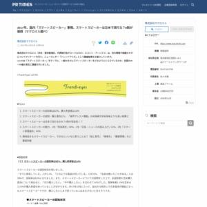 2017年、国内「スマートスピーカー」事情。スマートスピーカーは日本で流行る?6割が疑問