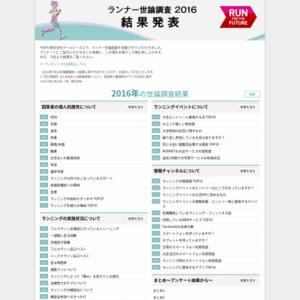 ランナー世論調査2016