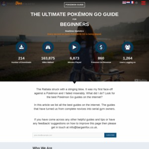 THE ULTIMATE ONE STOP GUIDE AND RESOURCE FOR POKEMON GO BEGINNERS