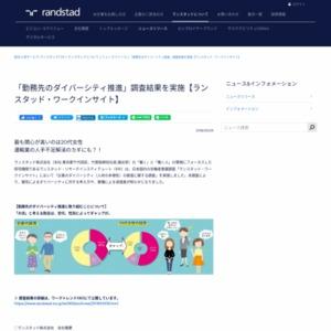 「勤務先のダイバーシティ推進」調査結果を実施【ランスタッド・ワークインサイト】?