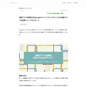 地図アプリの利用に関する調査
