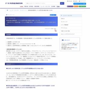 駐車支援/自動駐車システム世界市場の調査を実施(2017年)